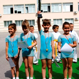 Гимнастика 129 Детска градина